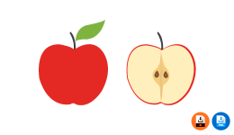 사과 일러스트 과일 일러스트 ai
