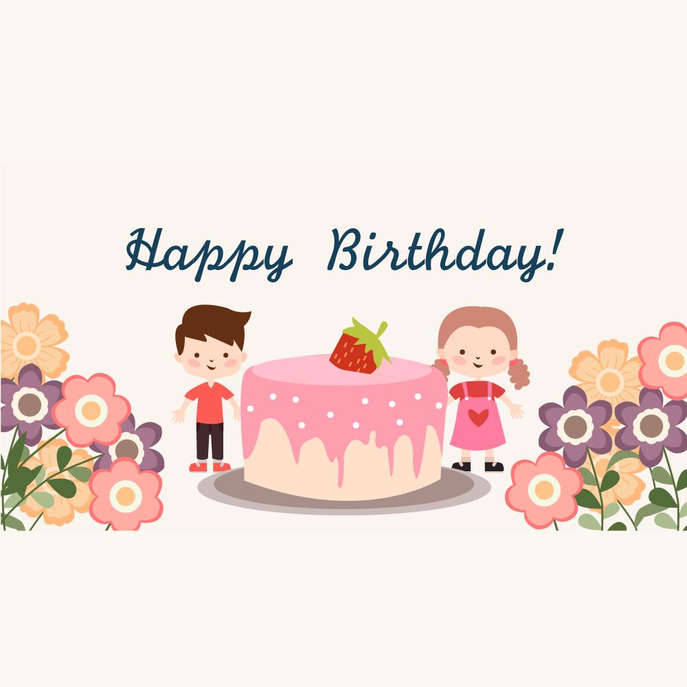 생일 일러스트 PNG