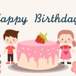생일일러스트 PNG AI