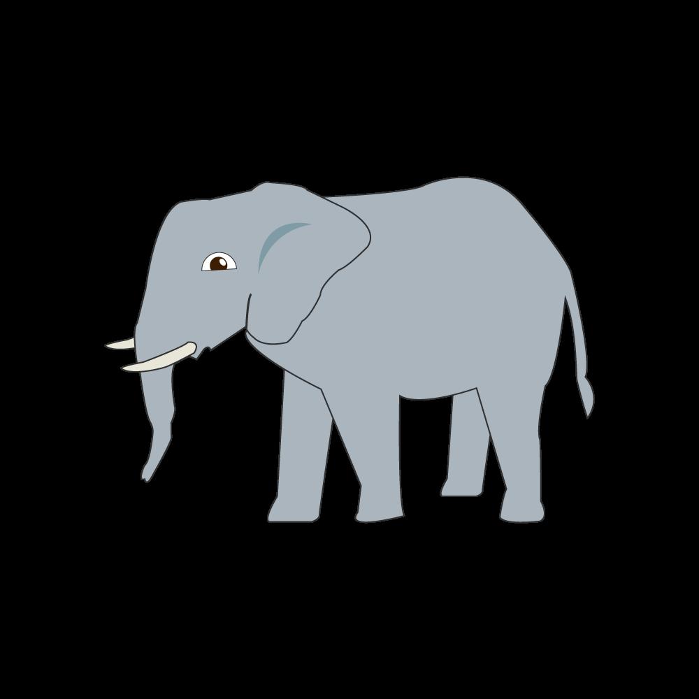 코끼리 일러스트 PNG