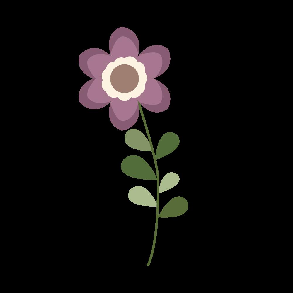 꽃 일러스트 AI