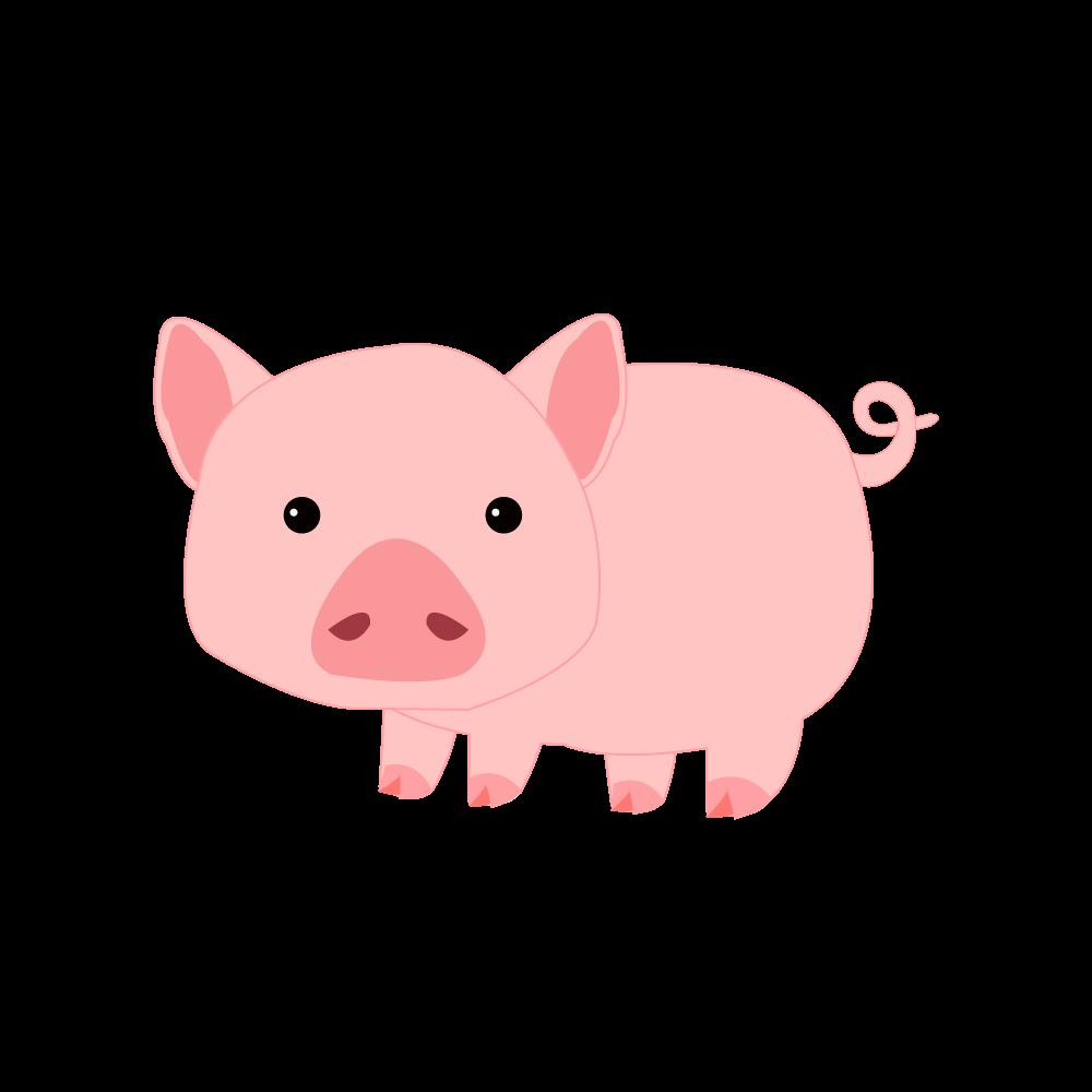 돼지 일러스트