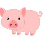 돼지 일러스트 PNG
