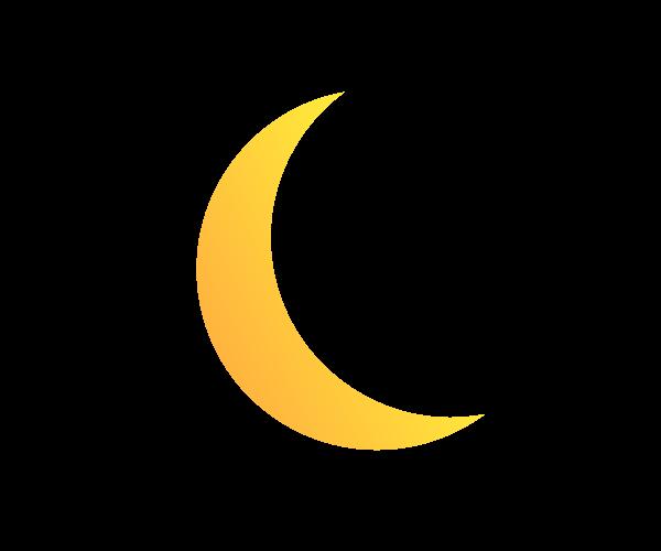 달 일러스트 디자인 1