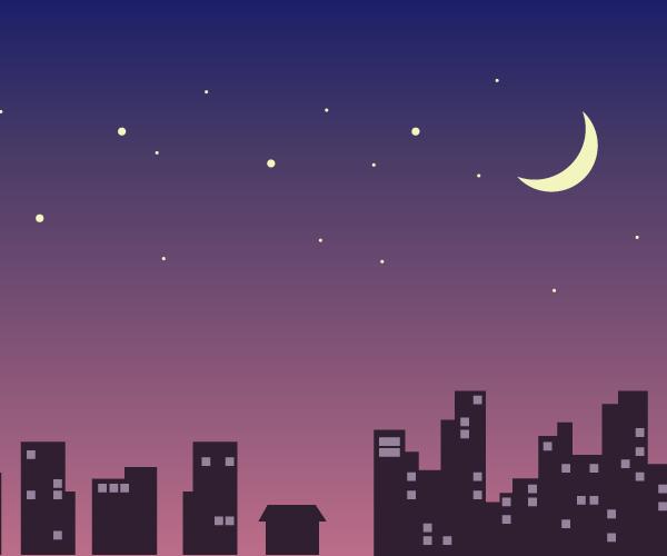 밤하늘 일러스트 배경