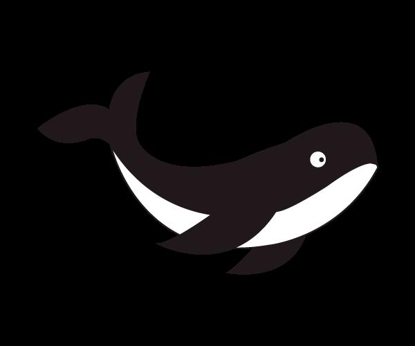 고래 일러스트 AI