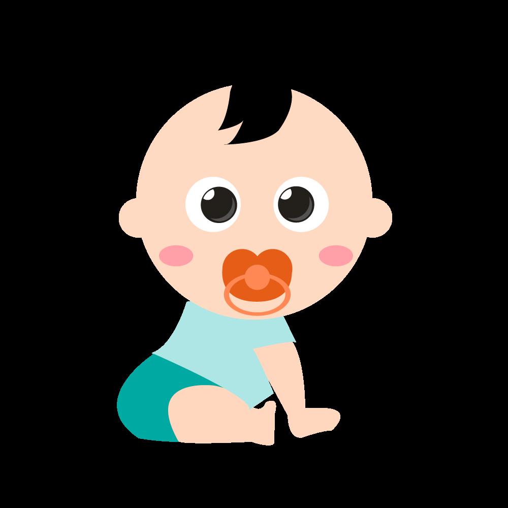아기 일러스트 PNG