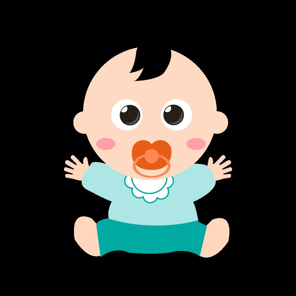 귀여운아기 일러스트 PNG