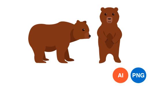곰 일러스트 이미지