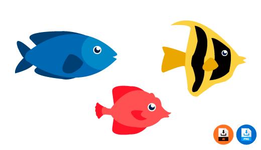 물고기 도안, 그림, 니모