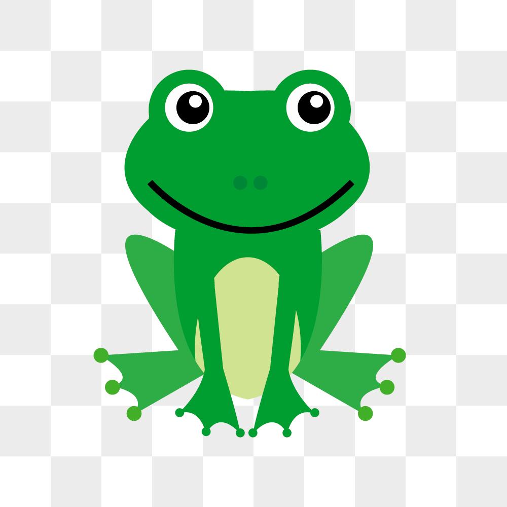 개구리 일러스트 PNG