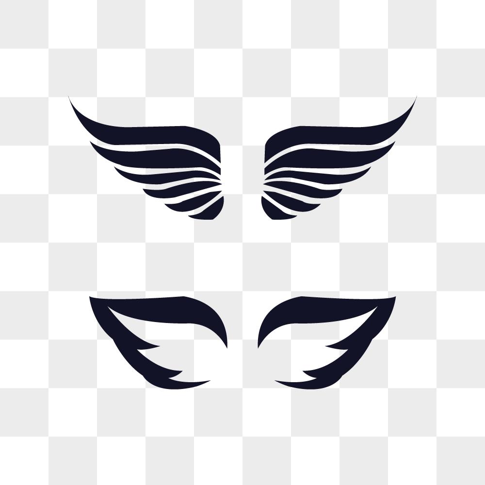 날개 일러스트 PNG 이미지