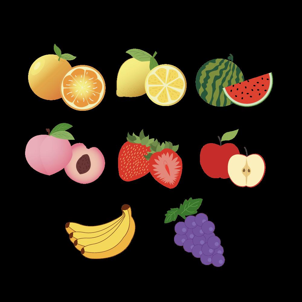 과일 일러스트 PNG