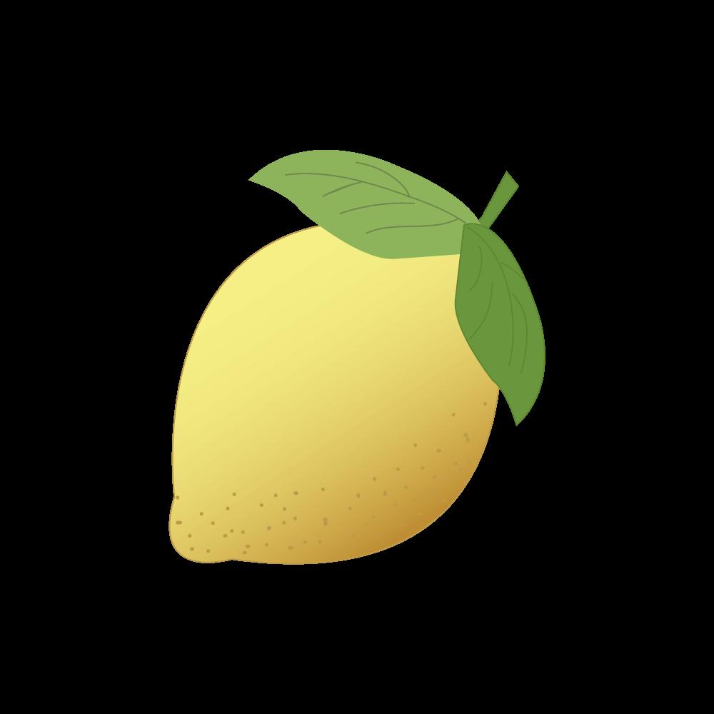 레몬 일러스트 PNG