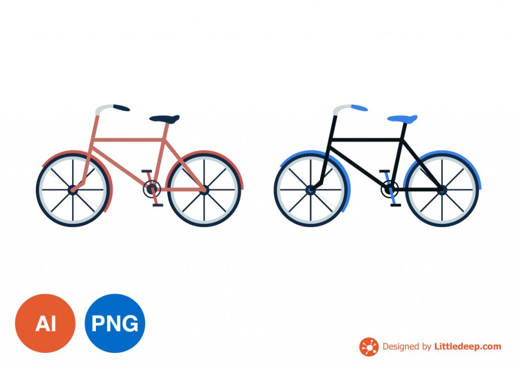 자전거 일러스트