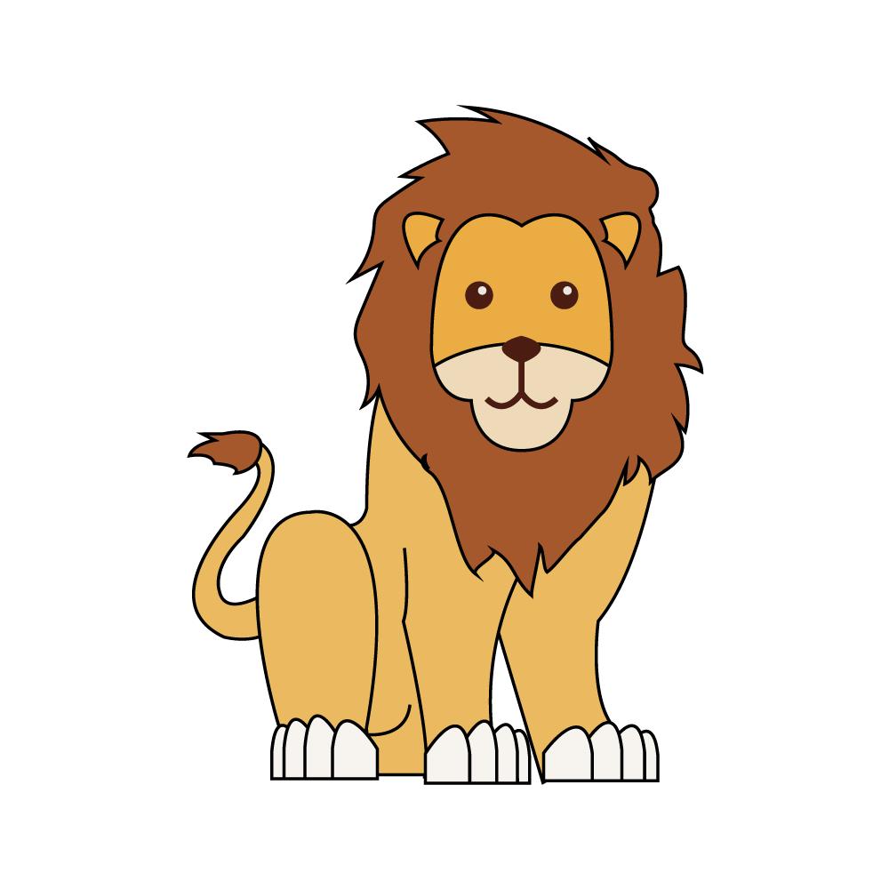 사자 PNG