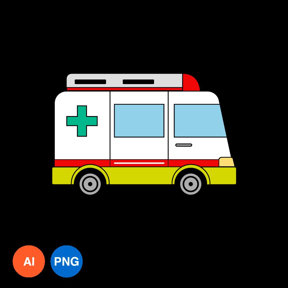 구급차 PNG