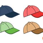 모자 이미지 디자인 PNG 일러스트