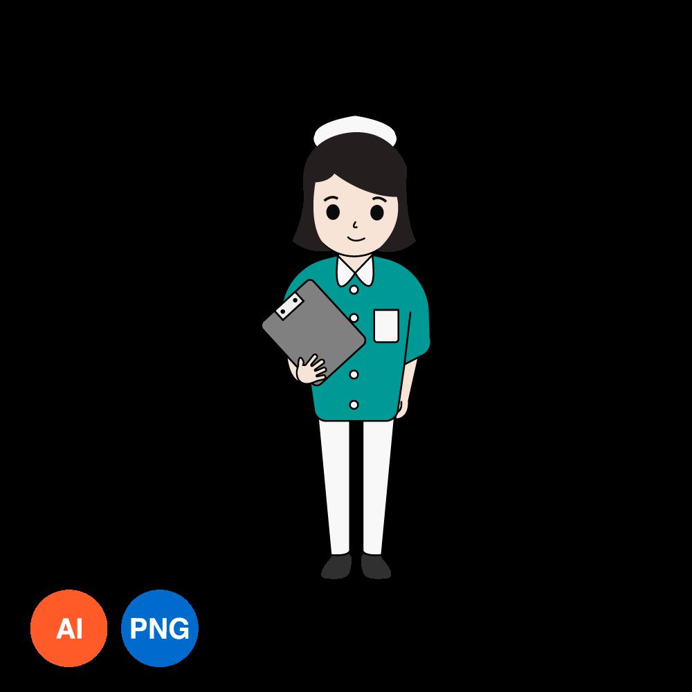 간호사 PNG