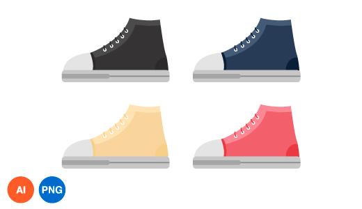 신발 이미지 디자인