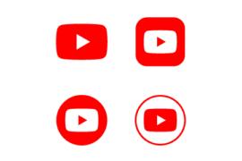 유튜브 그림 디자인 이미지 아이콘 일러스트