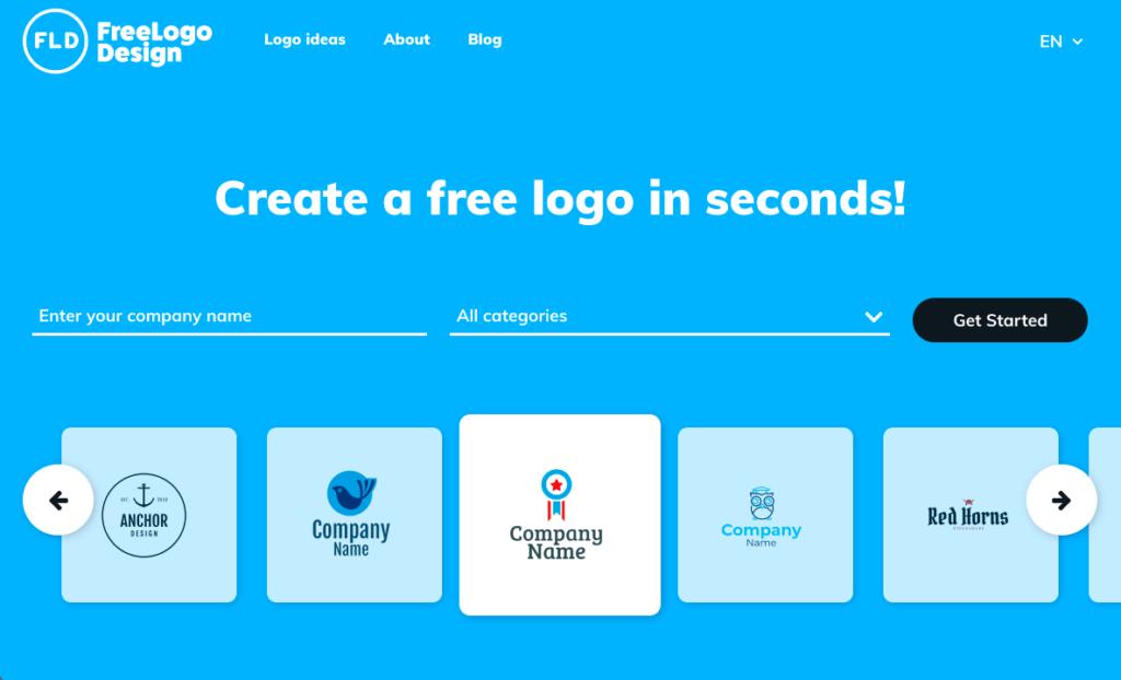 무료 로고 디자인