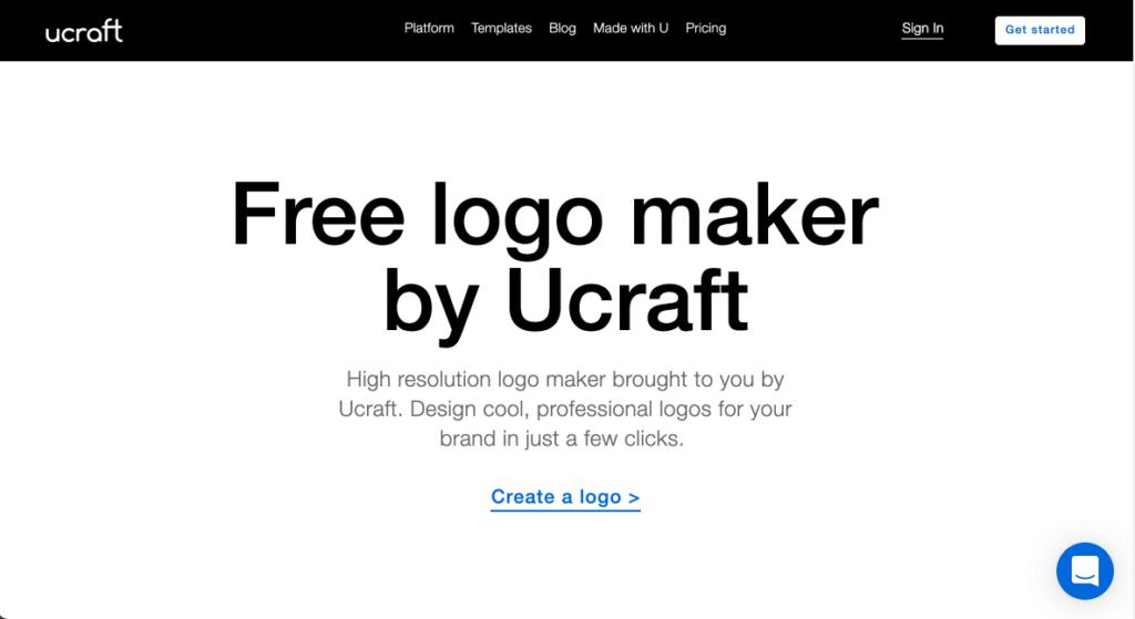 ucraft 로고 메이커