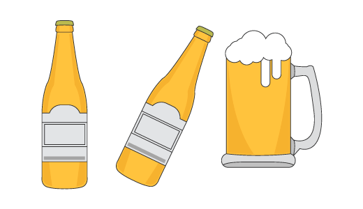 맥주 디자인