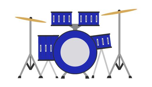 드럼 디자인