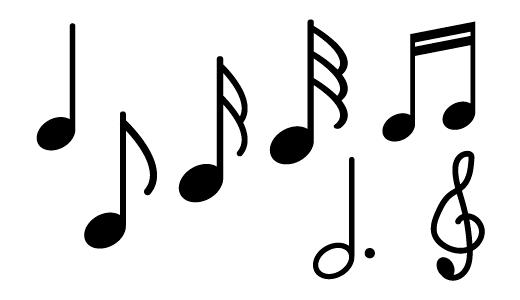 음표 디자인