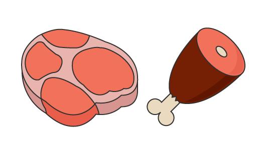 고기 디자인