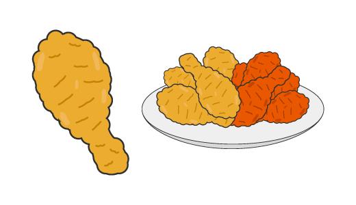 치킨 디자인