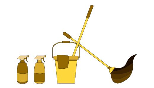 청소 디자인