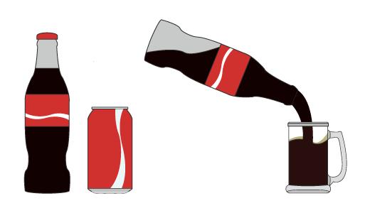 콜라 디자인