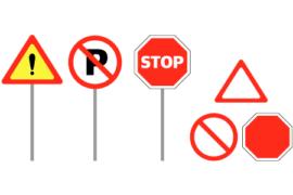 표지판 디자인