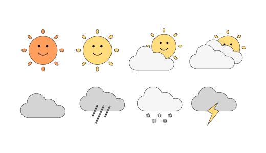 날씨 디자인